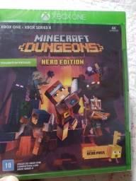 Título do anúncio: Minecraft Dangeons XBOX