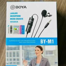 Microfone Lapela Boya M1