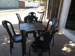 Jogo Mesa e cadeiras Plástico