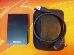 Título do anúncio: HDD Externo Toshiba 1 Terabyte USB 3.0