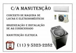 C/A manutenção  /De ar condicionado /Eletricidade