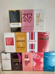 Perfumes contra tipo feminino 1 linha