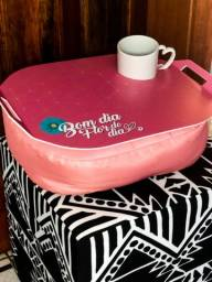 Almofada de colo café da manhã BOM DIA.