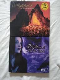 Lote de 2 CDs com DVDs Nightwish usados