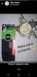 Meia de ciclismo masculino