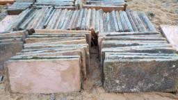Laje de pedra gres (grossa)! Raridade / Barbada / Aproveite