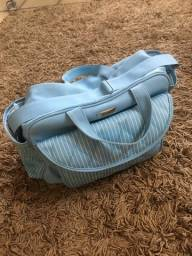 Bolsa Maternidade Azul Claro, da PurArt- Bolsa G e P.