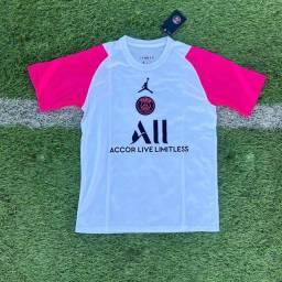 Camisa do PSG Jordan rosa treino