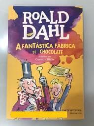 Livro A Fantástica Fábrica de Chocolate, de Roald Dahl