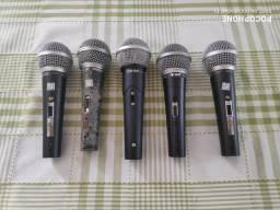 Título do anúncio: Microfone Diversas Marcas, preço referente a cada unidade