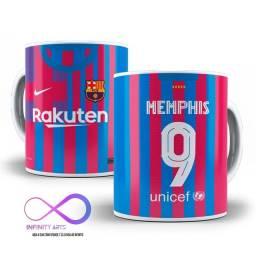 Caneca Barcelona 2021/2022 (nome e número personalizado)