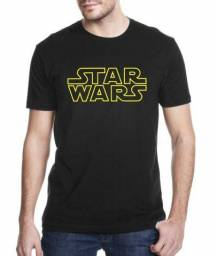 Camisa star wars filmes camiseta serie