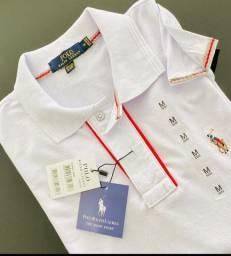 Camisa gola Polo e ou Camiseta