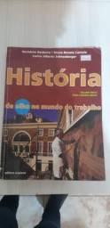 Livro : história. de olho no mundo do trabalho- herodoto barbeiro