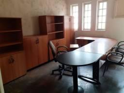 escritório completo em mogno