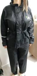 Capa de chuva pantaneiro feminina