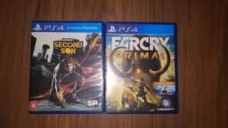 Jogos de PS4 (Leia a descrição)