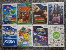 Jogos originais Nintendo Wii  japonês valor cada a partir  90,00 aceito cartão crédito