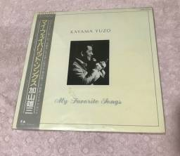 Disco de vinil importado do Kayama Yuzo