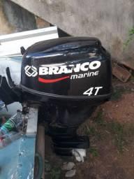 Motor de popa 15hp  4t valor 6500