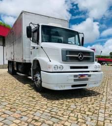MB 1620 truck com baú Raridade