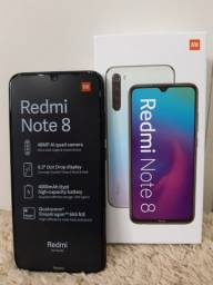 Celular Smartphone Redmi Note 8 Dual 64gb Global Preto Xiao