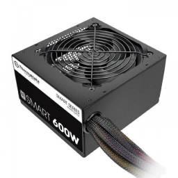 Fonte Thermaltake Smart Series 600w, 80 Plus White Pfc Ativo