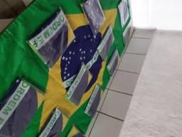 Bandeiras seleção brasileira grande aceitamos cartões envio todo o Brasil
