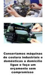 Conserto de máquinas de costura serviço com garantia