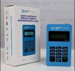Máquina de cartão mercado pago via Bluetooth