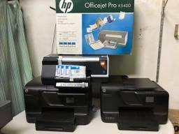 Título do anúncio: Impressora HP OfficeJet Pro 8600 (usadas) e 5400 (nova) sem as cabeças de impressão