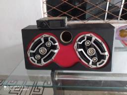 Caixa De Som + Radio