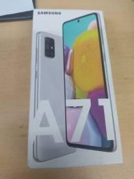Samsung a71 lacrado 128 GB  Cinza