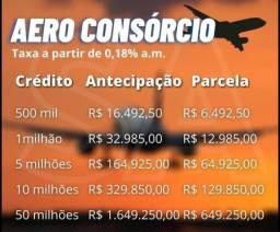 Aero consórcios