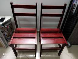 Título do anúncio: Cadeiras madeira