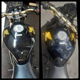 Lavagem e polimento de motos