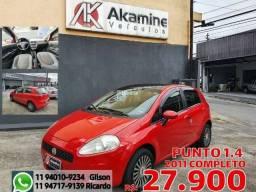 Fiat - Punto 1.4 Attractive - 2011 - Completo.