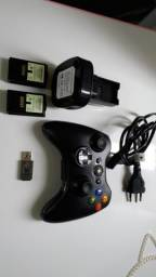Controle sem fio ( pc - Android- xbox 360 - ps3 )