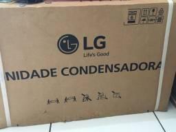 Ar-condicionado na caixa