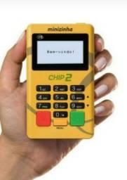 Maquininha de cartão Minizinha Chip2 Lançamento