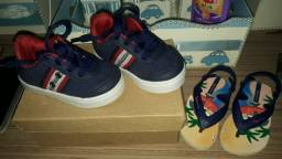 Sapatos e chinelas infantil