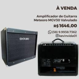 Amplificador de Guitarra Valvulado MGV30 Meteoro