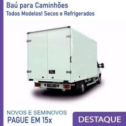 Baú Refrigerado e Baú Seco para Caminhão Modelo Ano 2012, 2015, 201... AB 1229