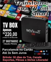 TV Box -Transforme A Sua TV Em Uma Super Smart TV Android