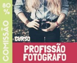 Procuro pessoa para fazer Curso Profissão Fotógrafo - Para Iniciantes.