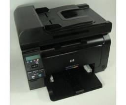 Impressora HP m175nw semi nova (toner colorido)