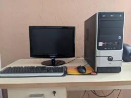 Computador - PC já formatado para primeiro uso.