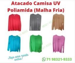 Título do anúncio: Atacado Camisa Uv Poliamida ( malha fria )