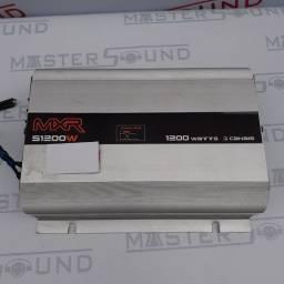 Módulo  MXR. Com 3 canais, mono Stereo. 1200 Watts. Semi novo. Instalado.