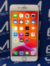 IPhone 8 Plus 256Gb Gold - Seminovo - com nota e garantia, somos loja fisica
